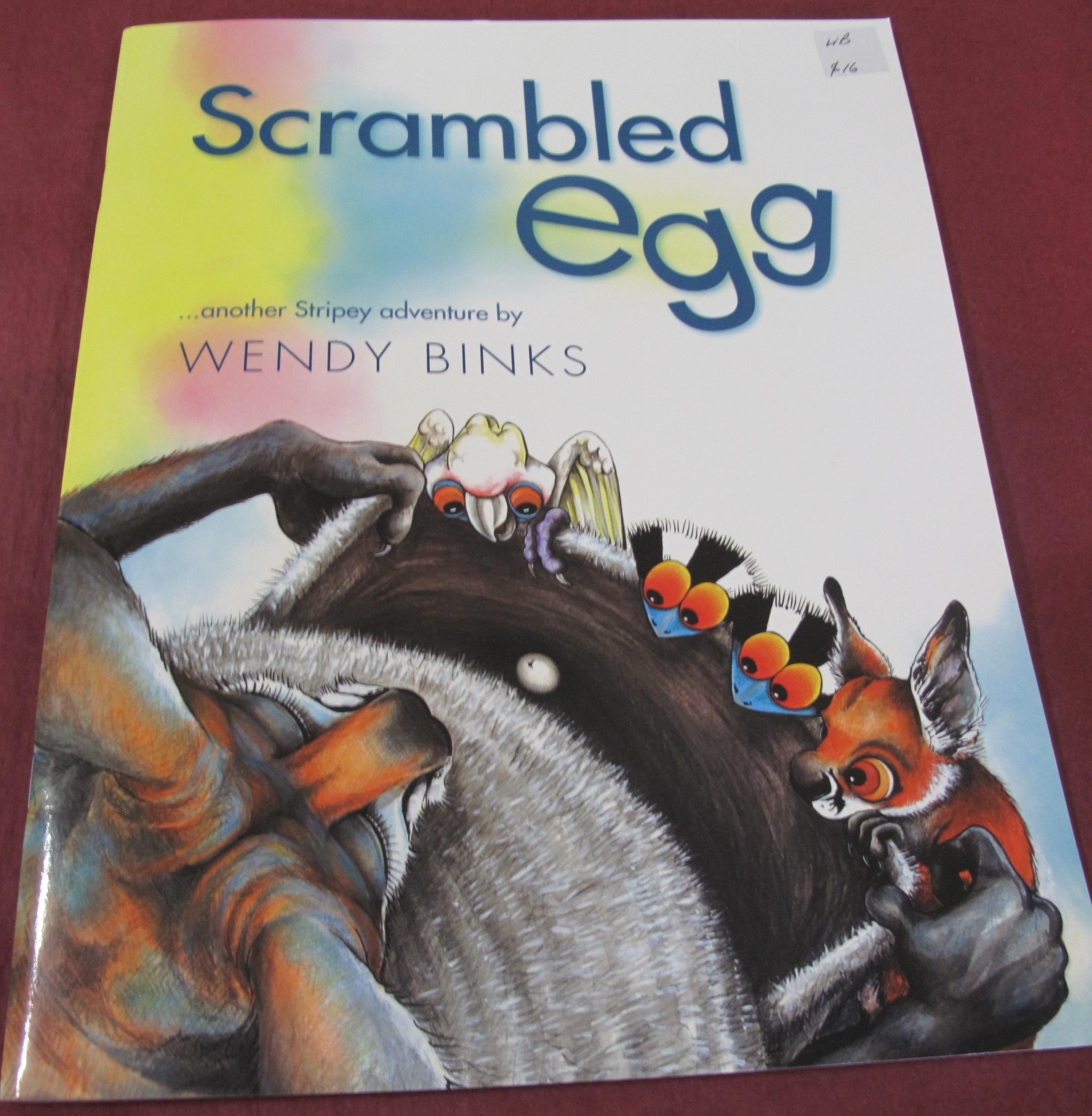 Book- Scrambled Egg