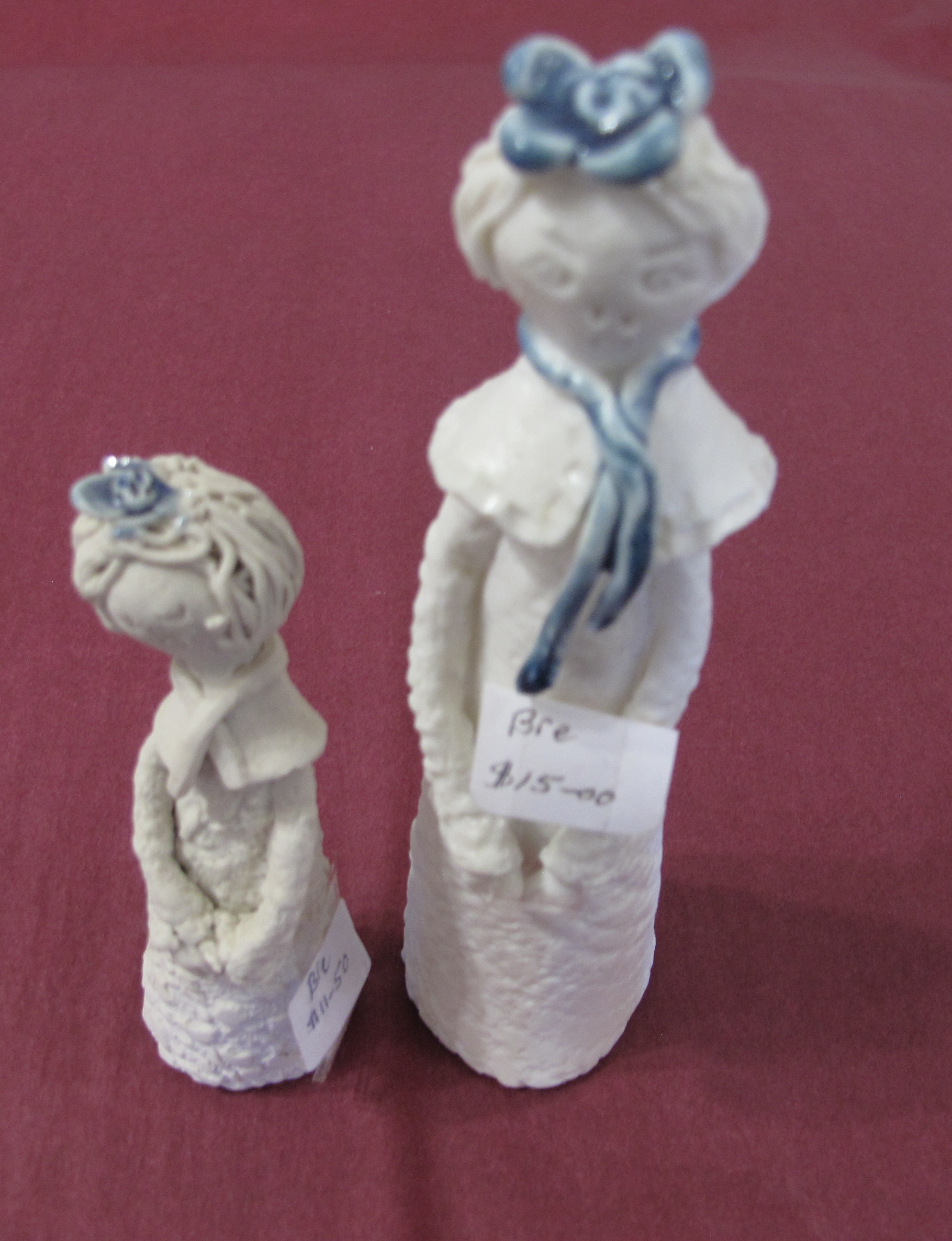 Pottery figurines
