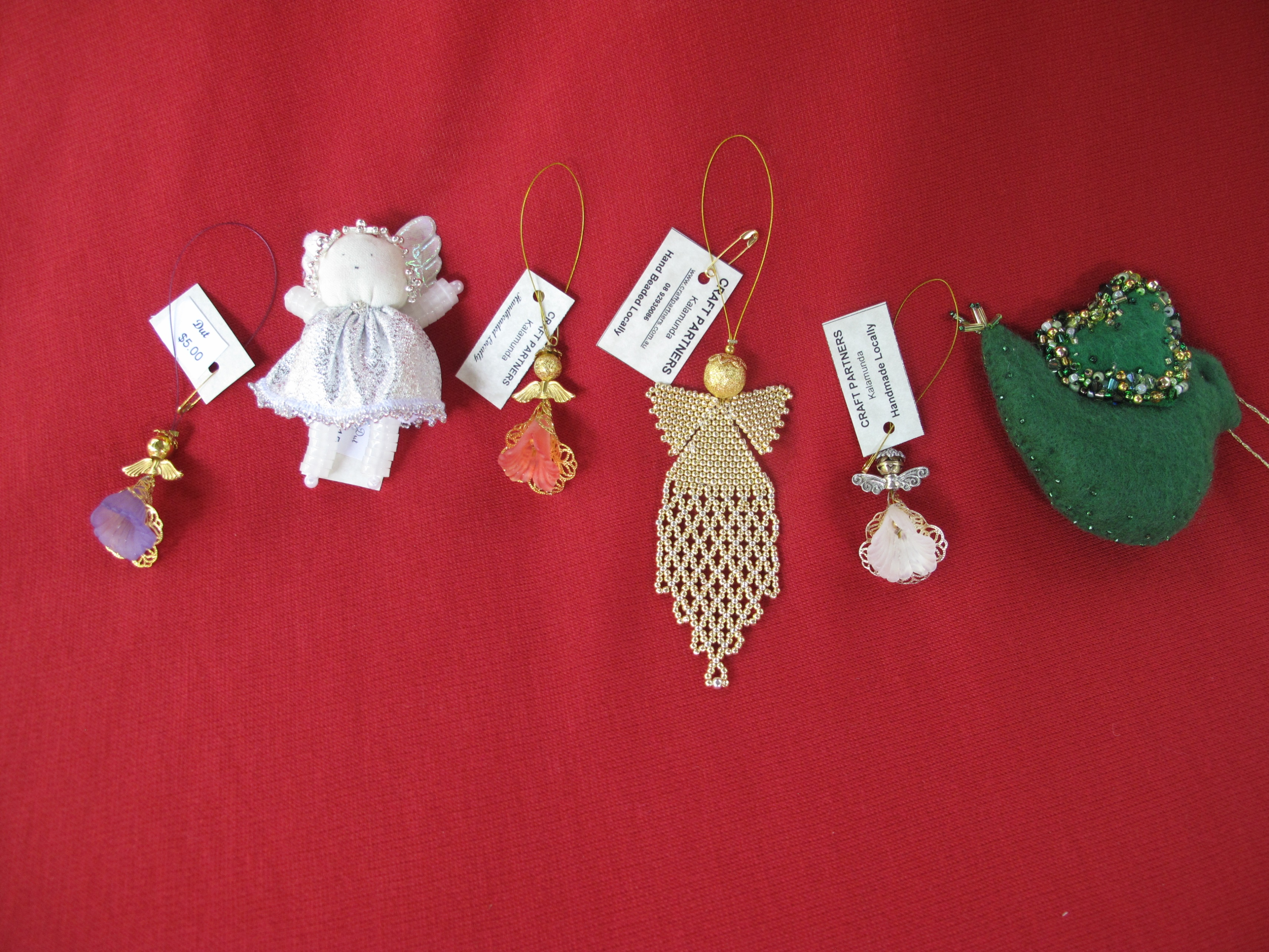 Christmas Tree Decorations - various
