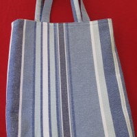 Library Bags 280 W X 350 D Striped
