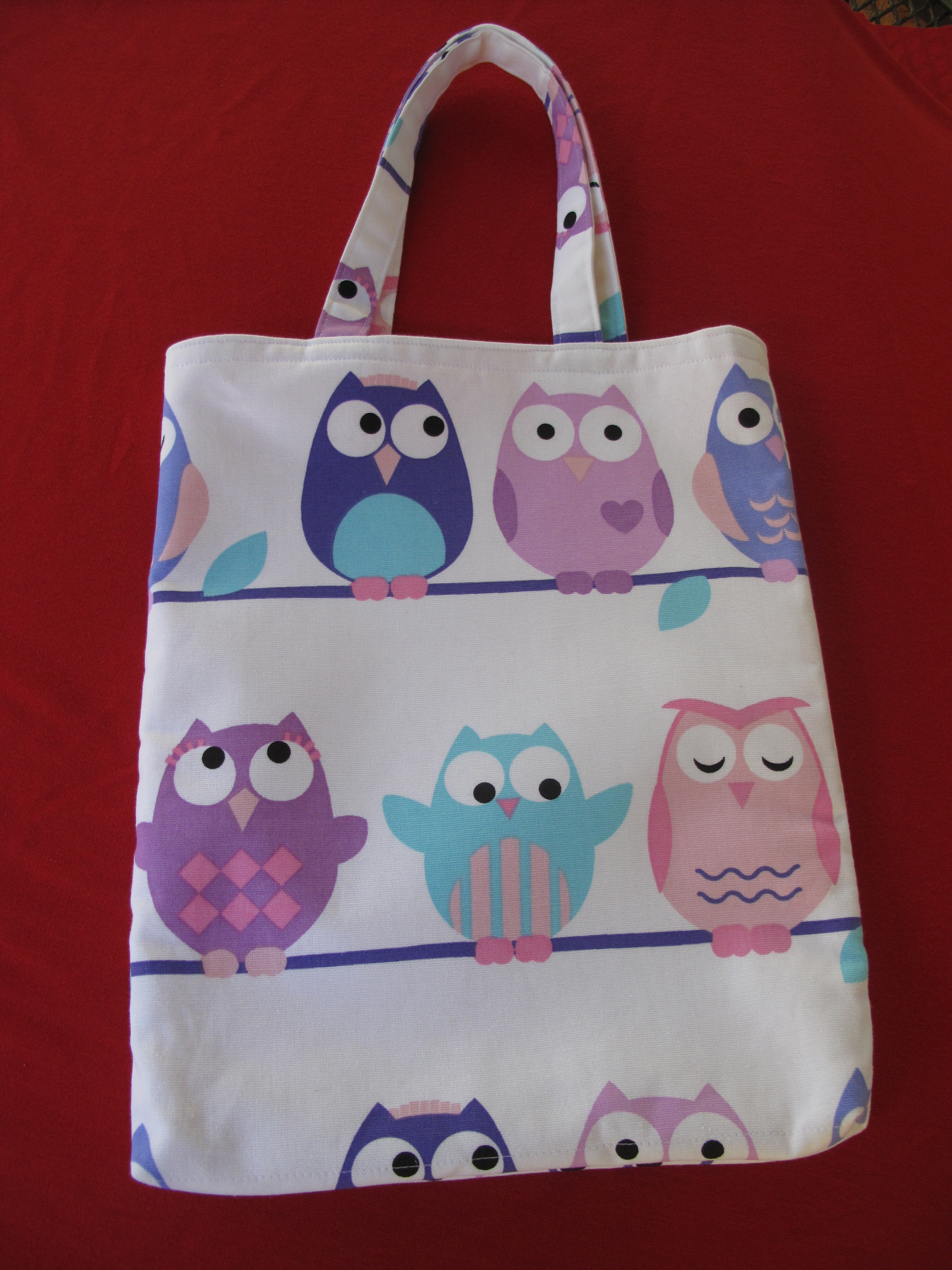 Library Bags 280 W X 350 D Owls