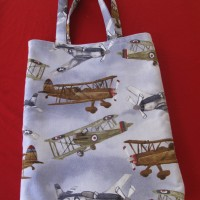 Library Bags 280 W X 350 D Airplanes