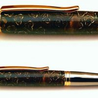 Liquid Amber Nut and Resin Pen