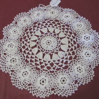 Crocheted Doily 6