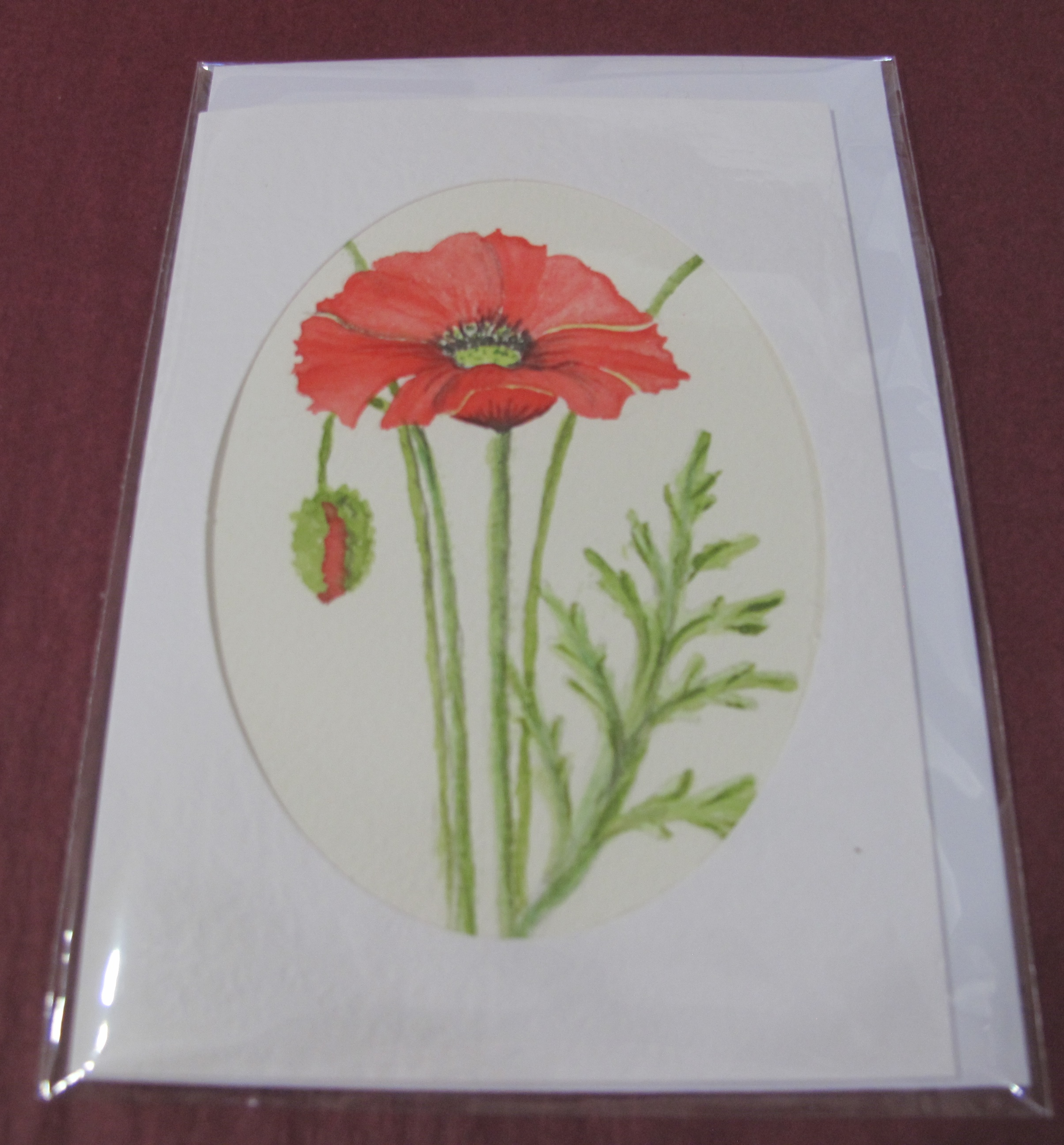Hand Painted Card