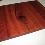Jarrah Board Natural Edge - 430 (cut side) X 315 (natural side) X 20
