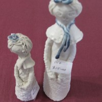 Pottery figurines