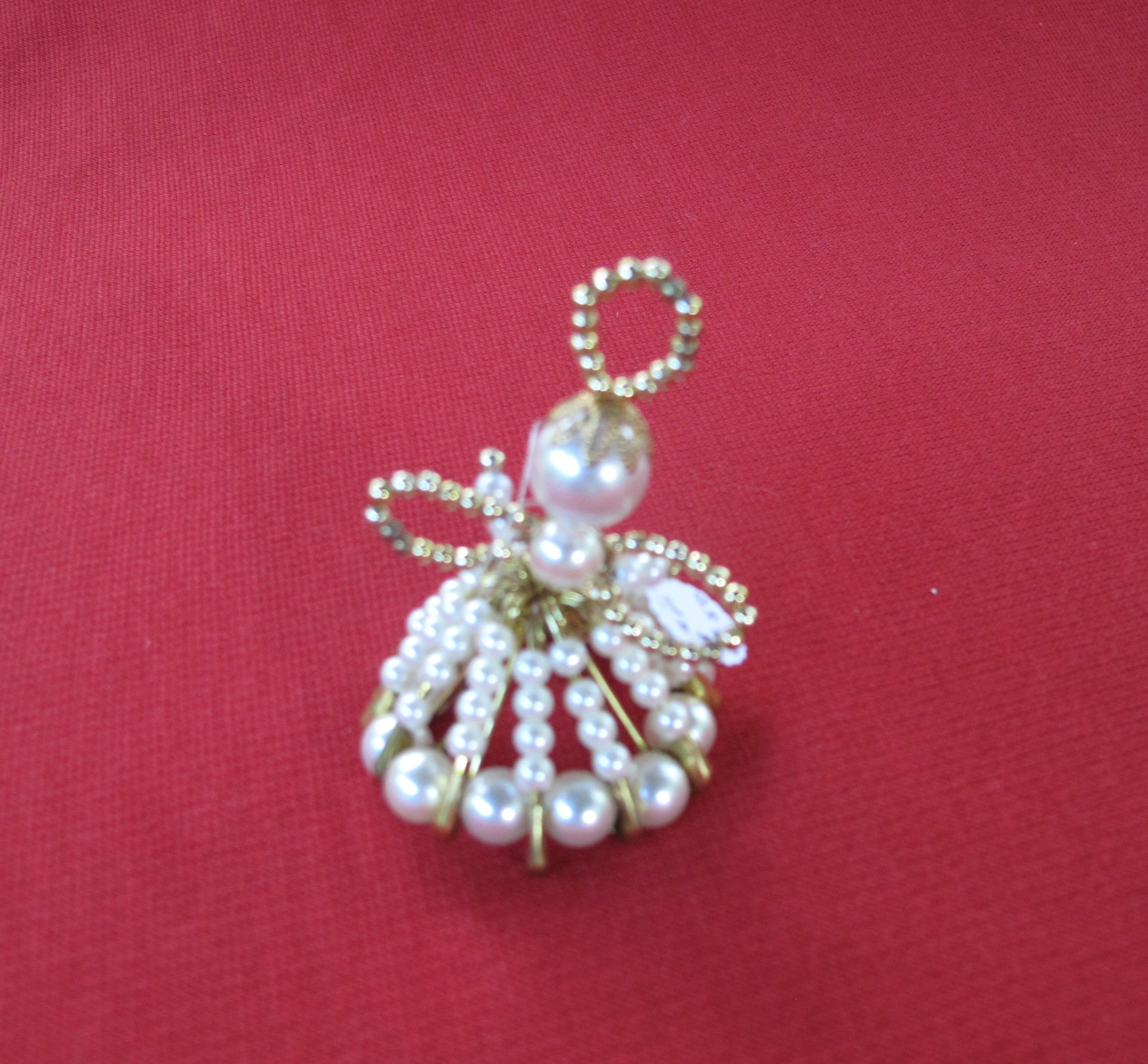Christmas tree decoration pearl angel craft partners for 2014 christmas tree decoration
